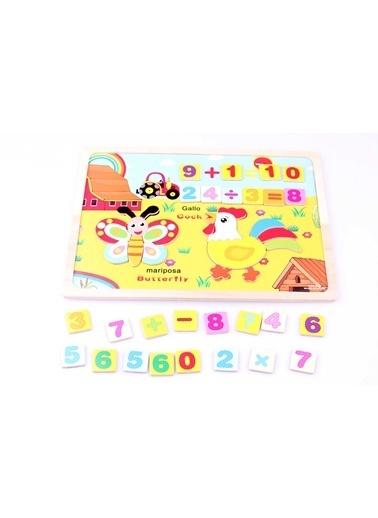Ahşap Sayısal Mıknatıslı Yapboz Seti-Learning Toys